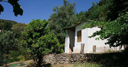 Remote Spanish Cortijo up in the Alpujarra mountains