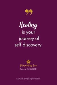 Healing is your journey of self discovery. When we start to see our bodies as a reflection of our spiritual and emotional well being, then we take one step closer to knowing ourselves as a being of energy, light and love.