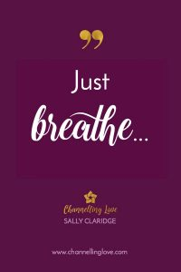 When you find yourself getting tense and stressed... take a deep breath and let the stress go. Slow down your breath and you'll feel your body begin to relax. Be your own healer!
