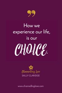 Our responses to life's challenges are our choice.