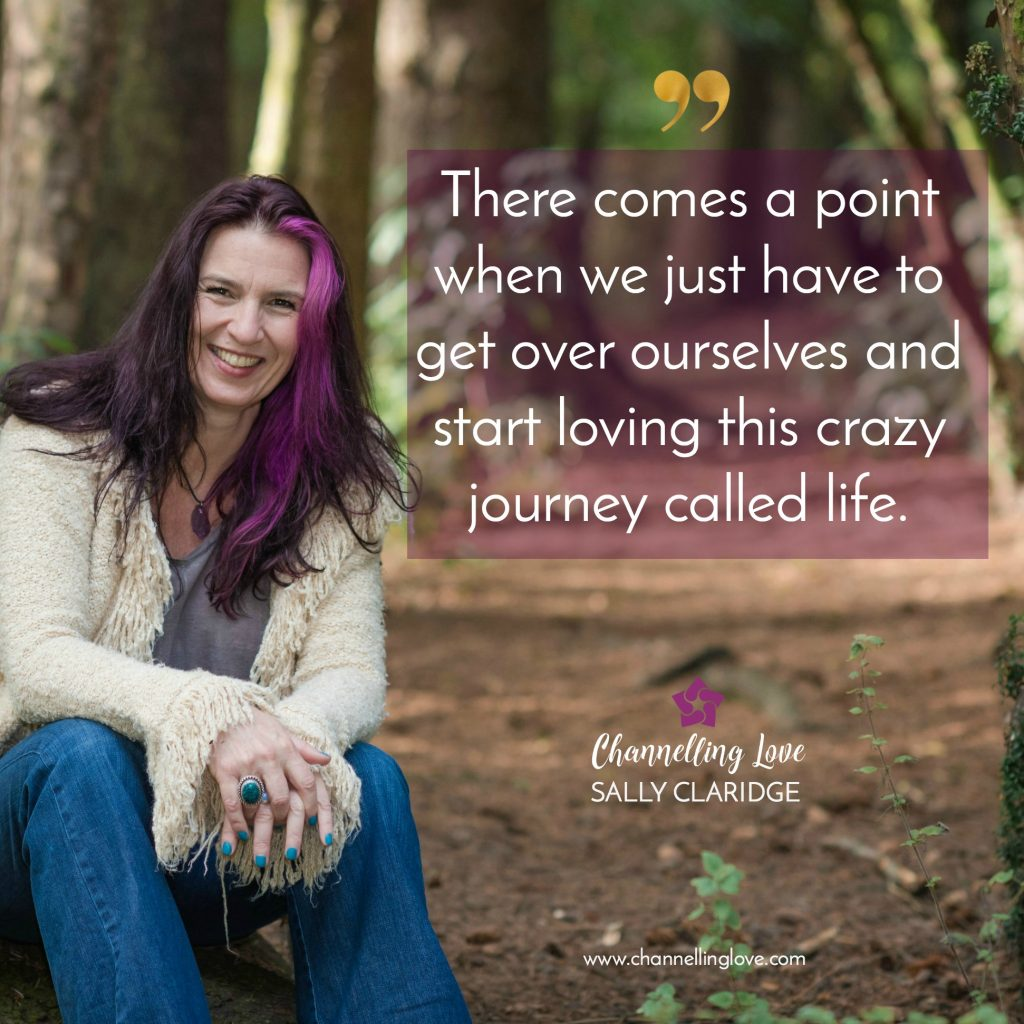 Sometimes we just have to get over ourselves and enjoy this crazy journey called life!