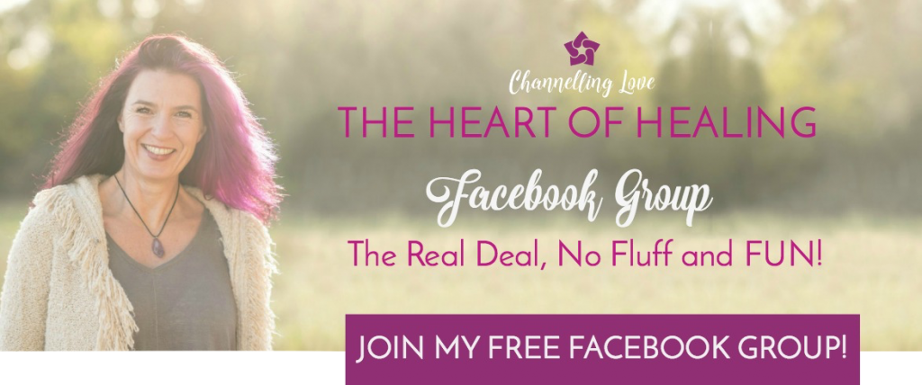 Come and join me in The HEART of HEALING!