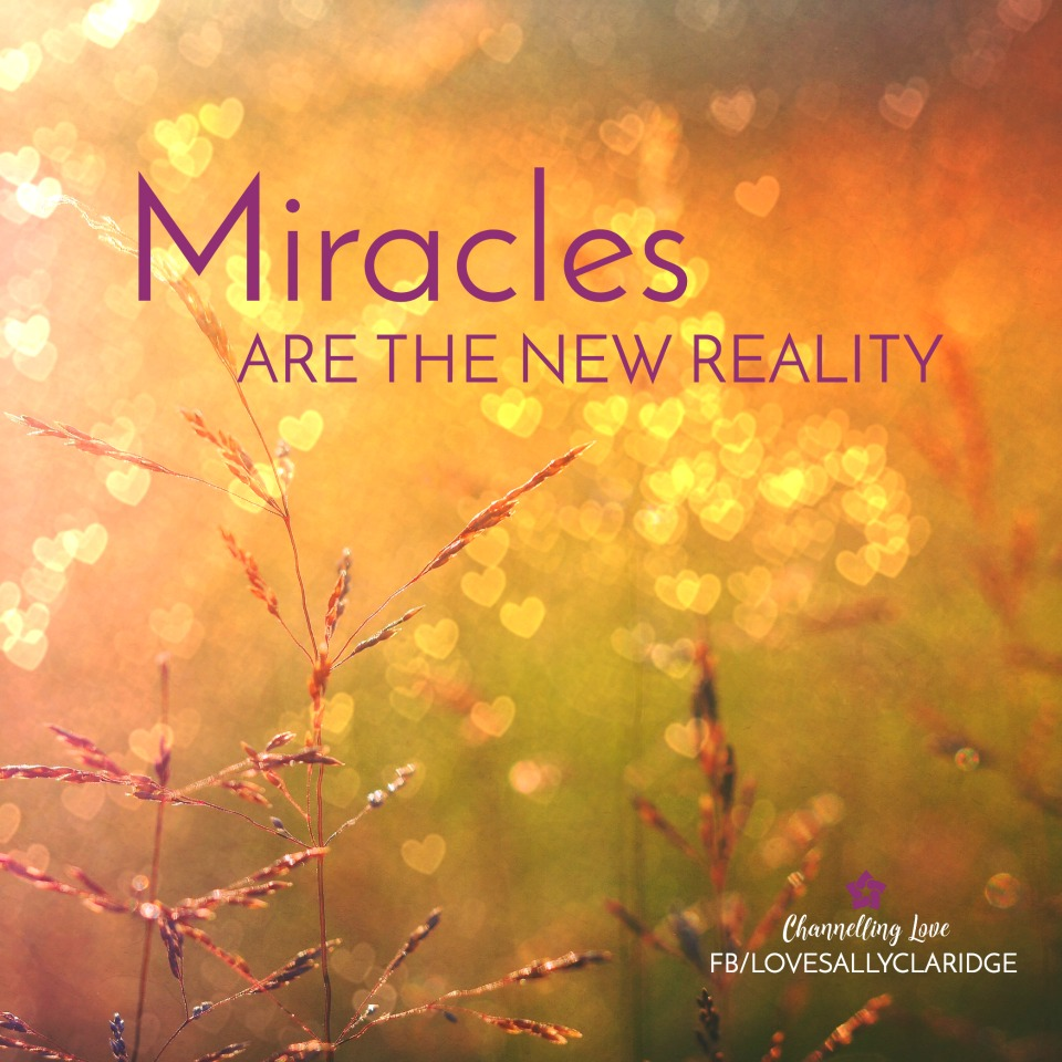 When you shift your mindset... miracles are your new reality...