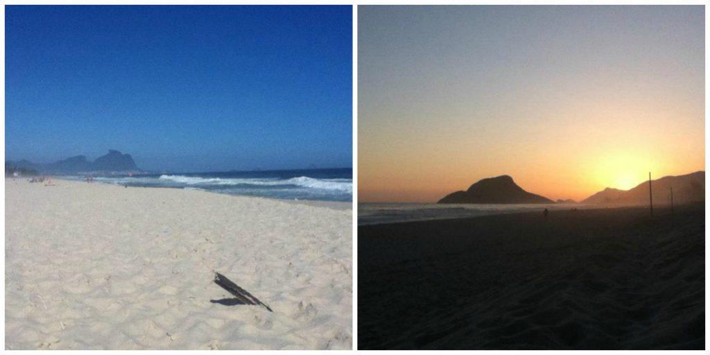 Recreio Beach in Rio de Janeiro