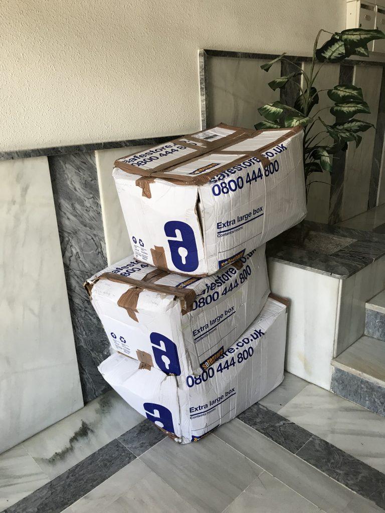 Dumped Boxes