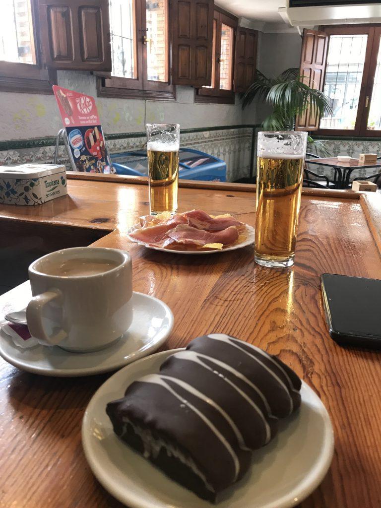 Beer, coffee, sweet and savoury... pure naughtiness...