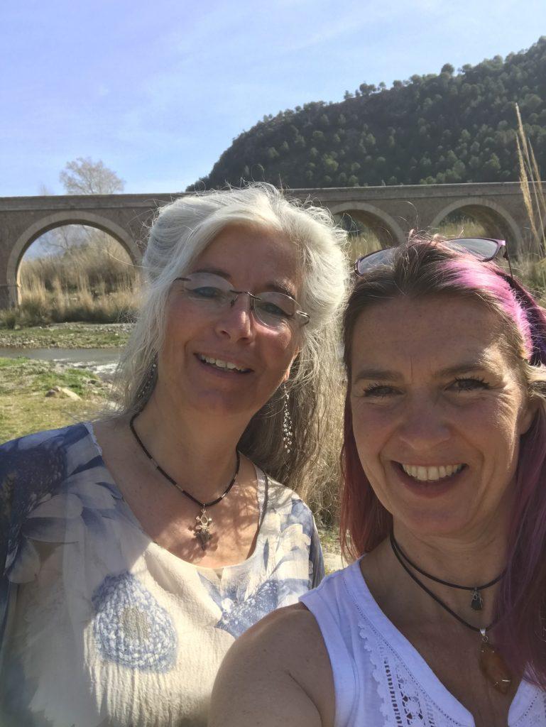 Me and Birgit Morayma Harp!